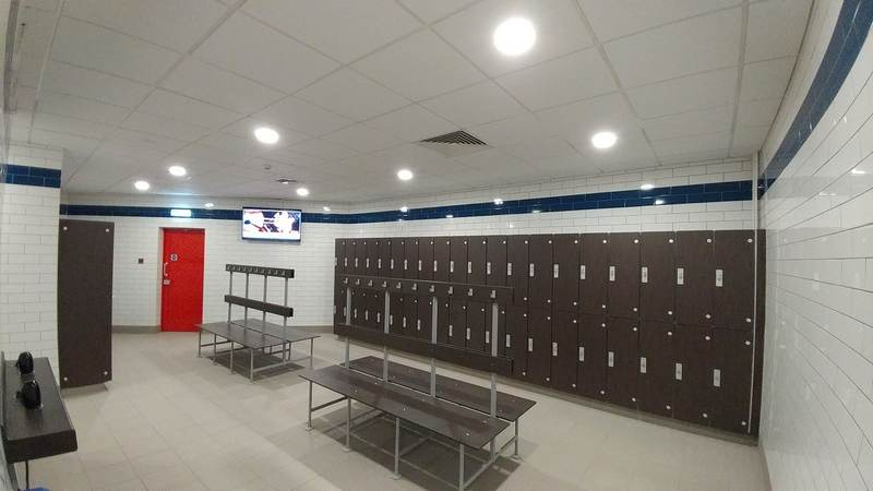 Changing Room refurbishment - Blackwater LC, Maldon