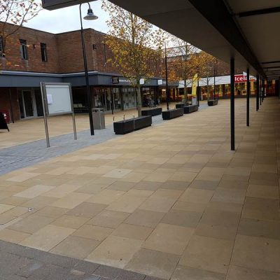 Paving - St Martin's Centre, Caversham (2)