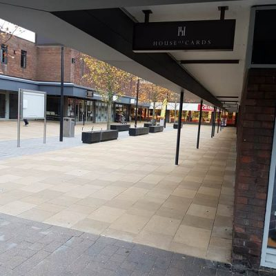 Paving - St Martin's Centre, Caversham