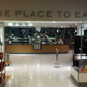 John Lewis Refurb - Place to Eat