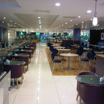 John Lewis Refurb - Place to Eat