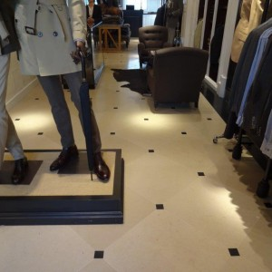 Shop Floor Tiling by Colne Valley Contracts, Essex, Suffolk