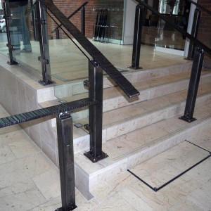 Stone Staircase With Integrated Lift