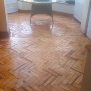 Renovated Parquet Flooring