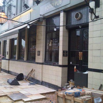The Eagle pub Refurb