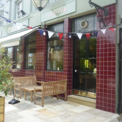 External Wine Bar Refurbishment